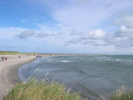 Looking north at the last bit of Denmark's east coast.
