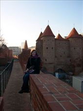 Me on the old city wall in the Old Town of Warsaw, Poland.: by arollingstone, Views[404]