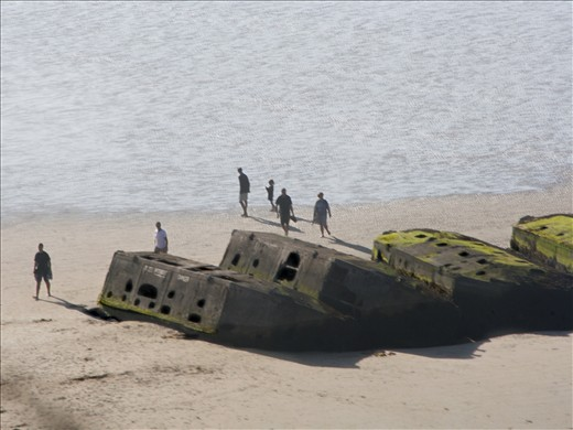 The Normandy landings August 2012