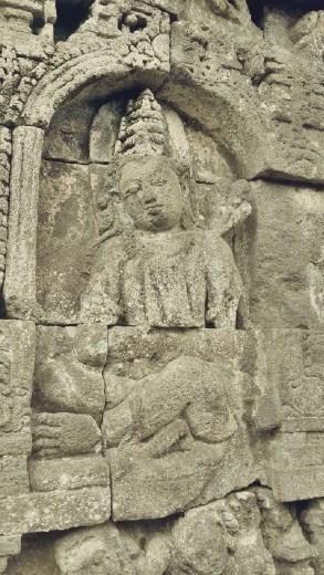 Detail artifacts of Borobudur