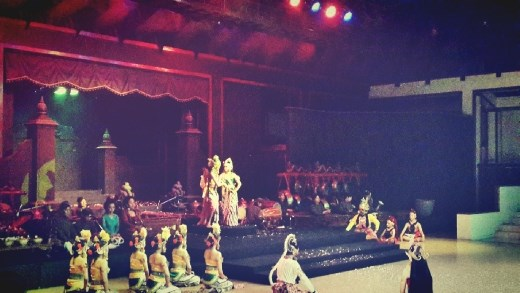 Last scene when Rama and Shinta can be together after all happened
