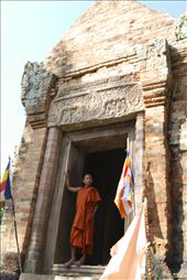 A young monk explores the temple on his first visit to the ancient ruins. : by ashleighsage, Views[185]
