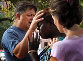 Two missionaries pray for the situation of those living in Tent City.: by ashleyautumn, Views[112]