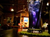 Wash it all down with a butterfly pea flower drink.: by asianichols, Views[581]