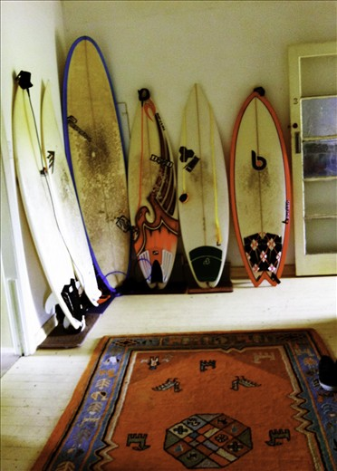 The Family. Nick's collection of boards for the many conditions that apply.