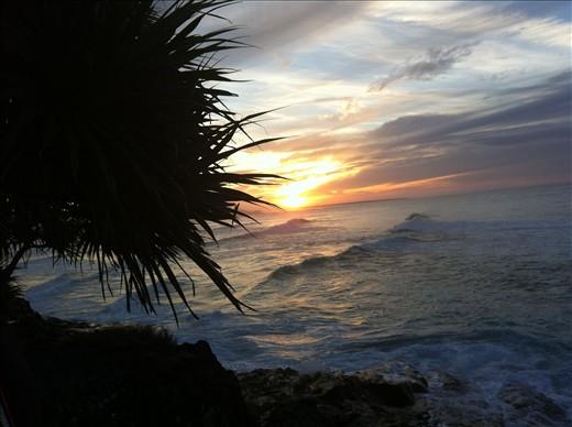 A Straddie Sunset. Stradbroke island