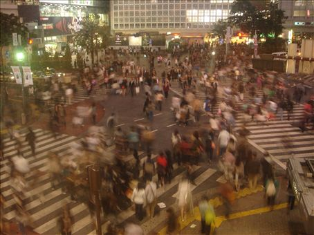Shibuya_ most famous crossing in the world