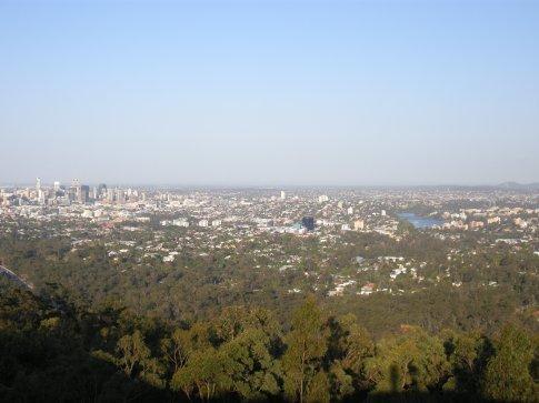 veduta panoramica dal Mt Coo-tha