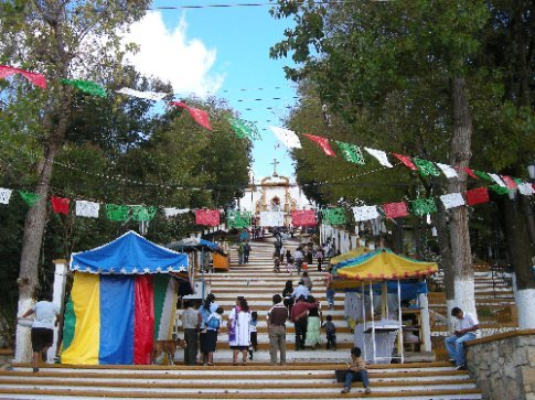 fiera in onore della Virgen de Guadalupe