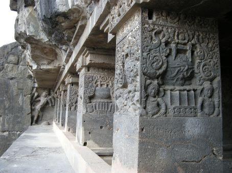 grotta hinduista, dettaglio