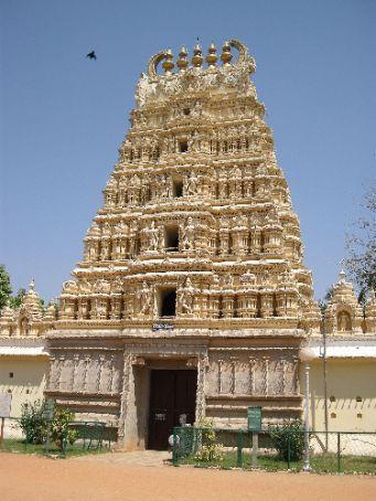 il tempio all'interno del complesso del Maharaja