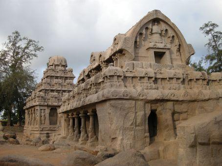 Mamallapuram, i five Rathas