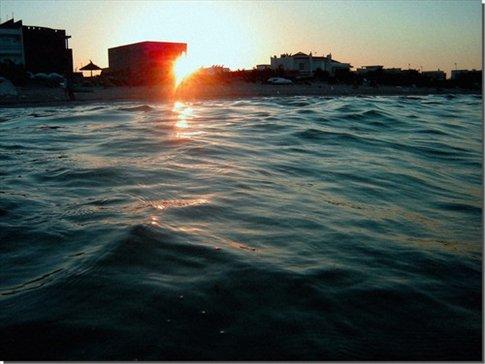 Big sea at Tunisia