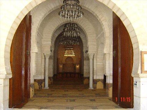 Interior of Tunisian Mosque