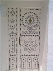 Tourists love Tunisian doors. (Hammamet): by aussiechick_007, Views[706]