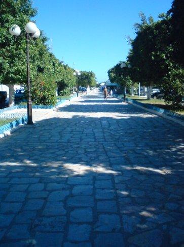 Streetscape in Nabuel, Cap Bon