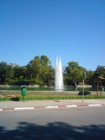 Fountain, Tunis