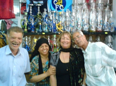 The friendliest souvenir/rug shop in Monastir..the man on the right is Ali Baba...
