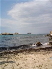 Monastir beach, relaxed and not to touristique for me: by aussiechick_007, Views[201]
