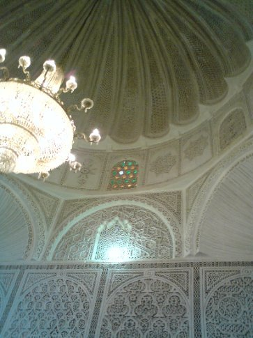 Lovely ceiling at Kairouan mosque
