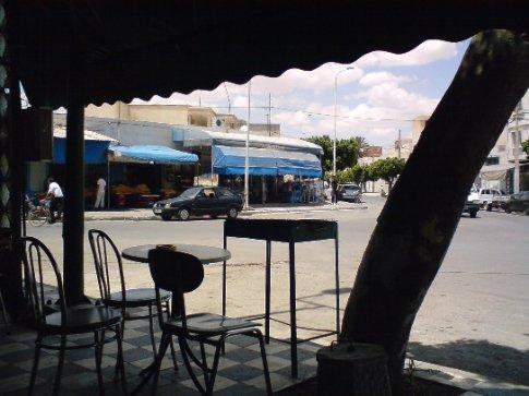 At Kairouan, cafe