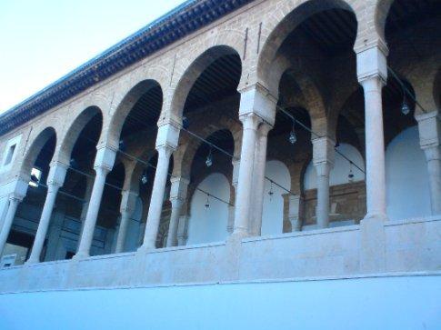 Oldest mosque in Tunisia (I think...), near Medina..