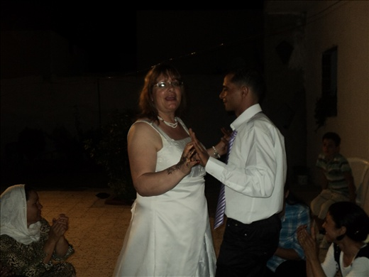 Fateh and me dancing @ wedding party, photo 2