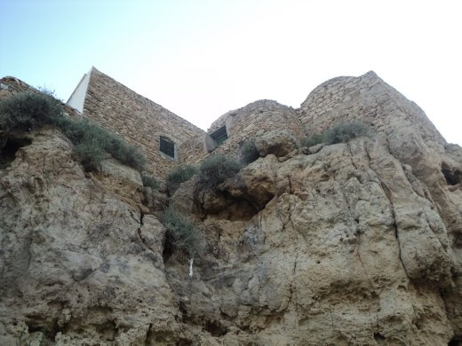 View of up the hill towards the top of Takrouna, one of my favourite, picturesque, photogenic, special places in Tunisia.