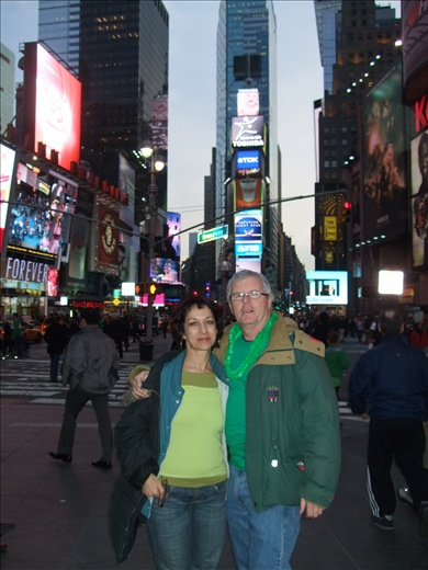 Times Square... the centre of tourism mania! we were drawn back every night