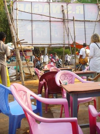 Chai spot opposite the ashram..... THE BEST!