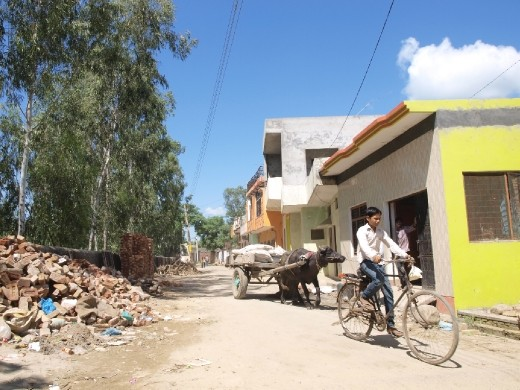 """Almost everybody in Dhampur owns a bicycle. It is one of the most convenient ways to move around the town -- going to school, running errands and making a living. Once you hear some bells ring, that signals a """"cycle"""" is approaching. Cycle is how locals call the bicycle."""