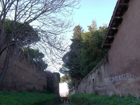 Rome have seven hills..this one is Aventino..a beautiful serene setting for the Templars and Sophias..