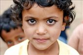 Young girl waits in line to receive a medical check-up outside a clinic in Kalikastan, Nepal: by ayconry, Views[325]