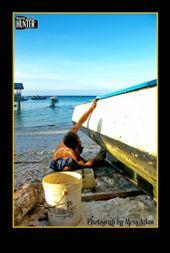 Pulau Mantanani, Sabah, Malaysia: by azlanumpai, Views[405]