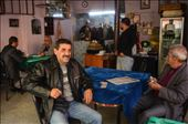 A typical Turkish cafe. Here you can find only men, drinking tee (cay), smoking, chatting, playing cards and relaxing. Women are not welcome! This reflexs an historical division between the two genders in a society who assigned different roles to men and wemen: by b-istanbul, Views[492]