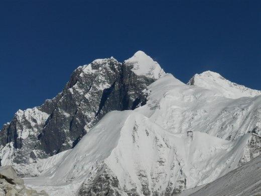 Lhotse und Everest.
