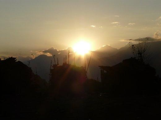 Sonnenuntergang in Num... endlich sind die Abende wieder waermer.