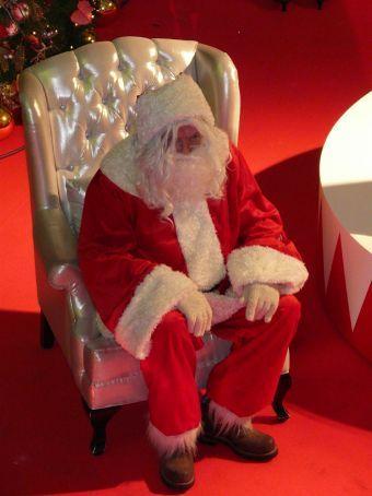 Santa Claus in Bangkok