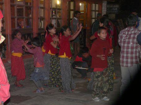 Tihar dance.