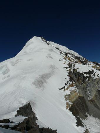 Chulu Far East's ridge.