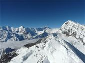 View of Chulu East and Annapurna I in the background.: by baba, Views[732]