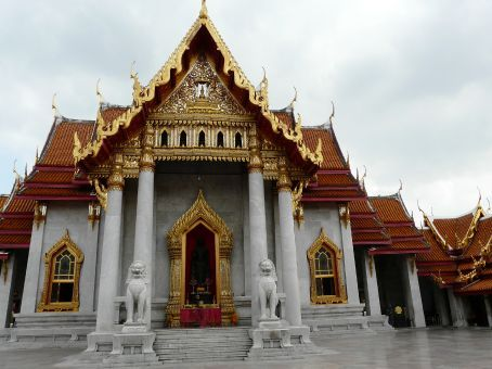 Monastery near the king's palace.