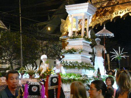 Loy Krathong parade.