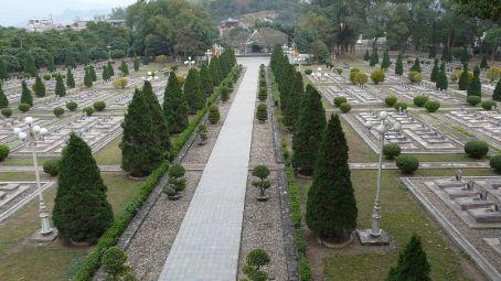 The Vietnamese cemetery in Dien Bien Phu.