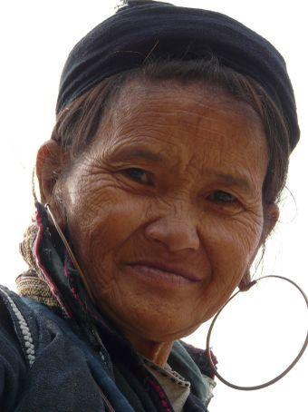 Black H'Mong woman.