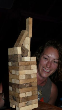 Freestyle Jenga.