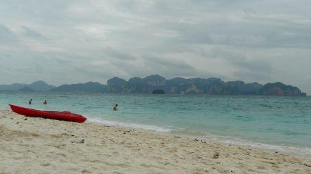 Paddle trip to Poda Island.