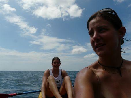 Kayak dream team.