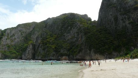 Maya Bay on Phi Phi Ley.