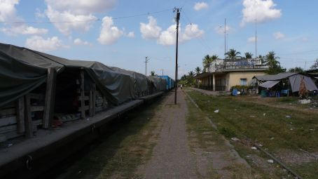 The train station of Battambang.